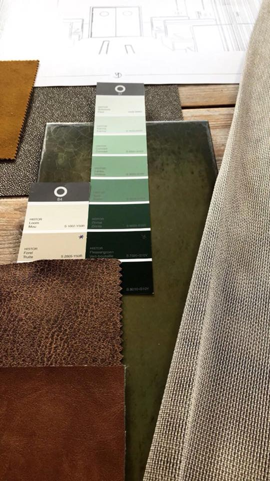 Groen interieur – Tramhuys